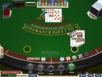 Blackjack free play online